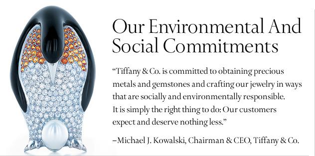 Tiffany Sustainability