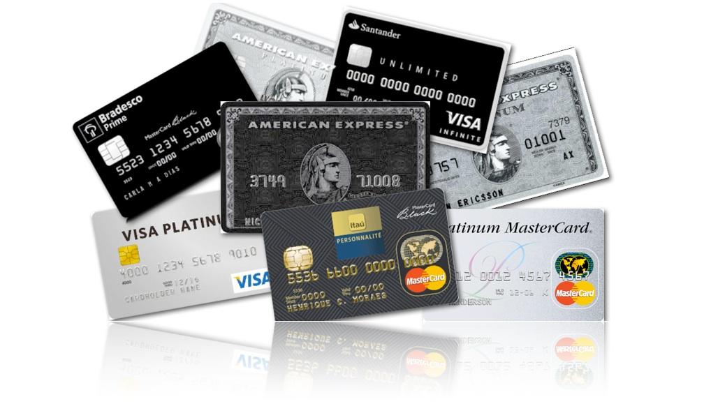 Cartões de Crédito AAA Luxo