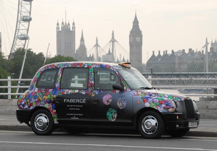 Fabergé Taxi Londres