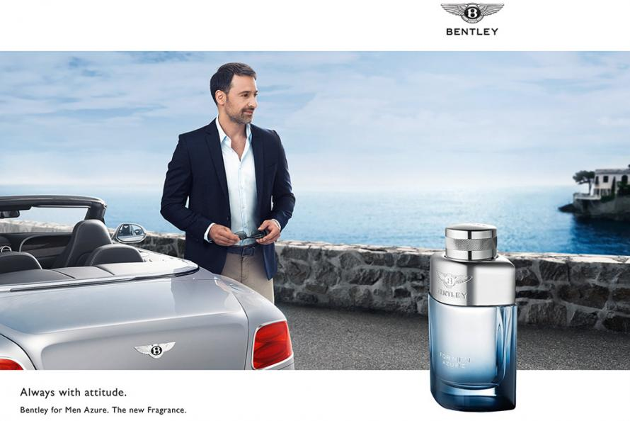 bentley perfume azure luxo