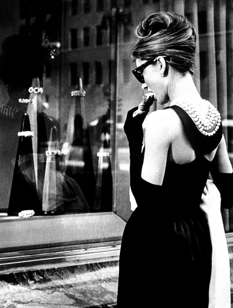 audrey hepburn luxo breakfast at tiffanys