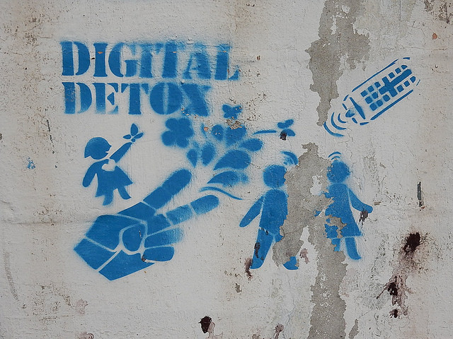 detox digital luxo redes sociais